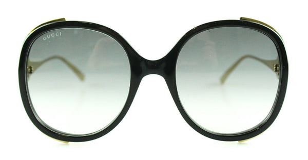 Gucci Oversize Ornate Vintage Web GG Sunglasses
