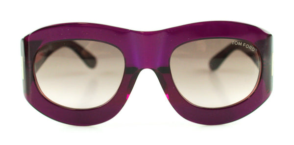 Tom Ford Mila Sunglasses Wine Frame
