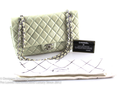 Chanel Mint Green Lambskin Medium Flap SH 2008/09 12475633