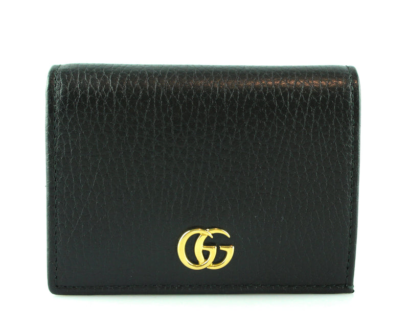Gucci Black GG Marmont Card Case RRP €270
