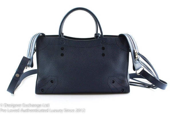 Balenciaga Small City Blackout Midnight