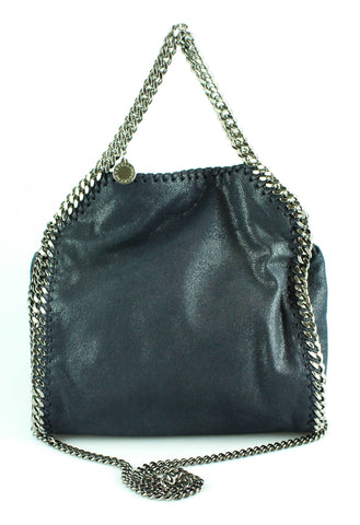 Stella McCartney Mini Navy Falabella Shaggy Deer SH