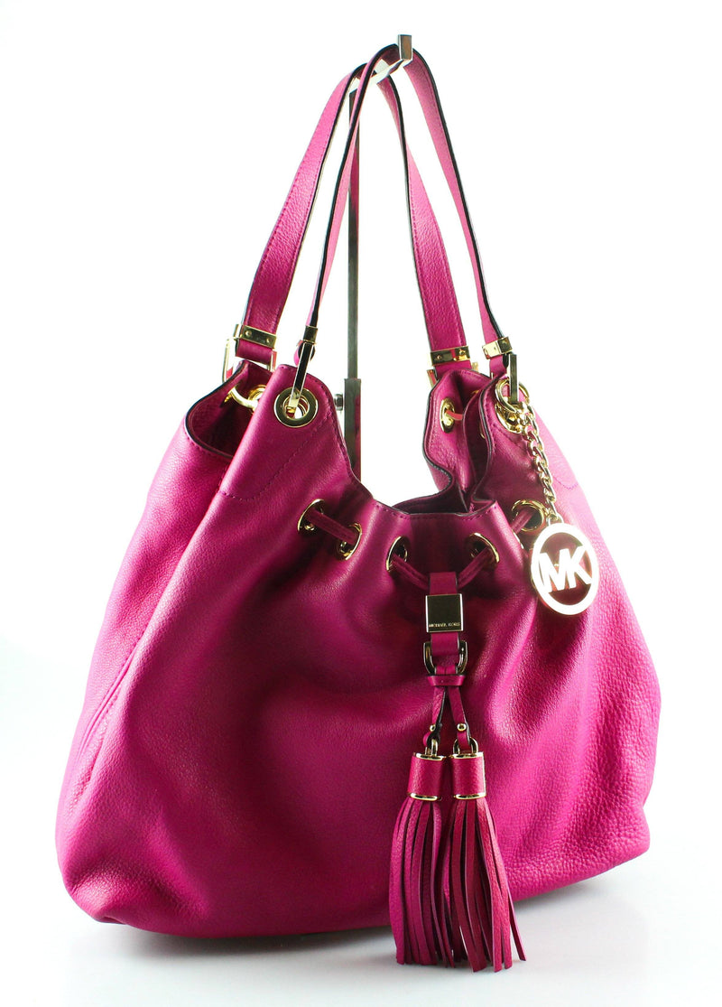Michael Kors Pink Leather Camden GH