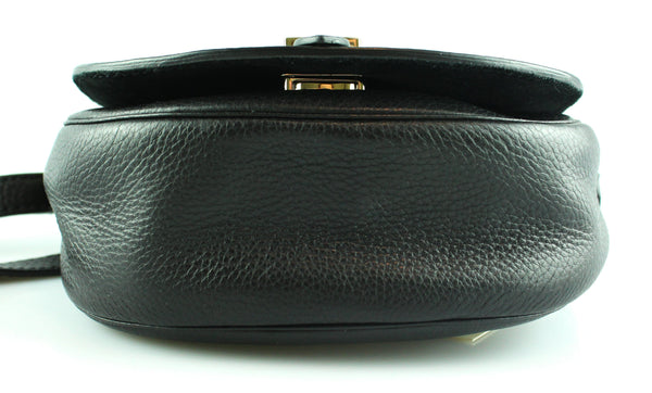 Mulberry Smooth Calf Leather Small Tessie Crossbody Black GH