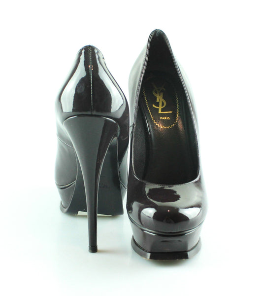 Yves Saint Laurent Tribute Pumps Viola EUR 38 UK 5