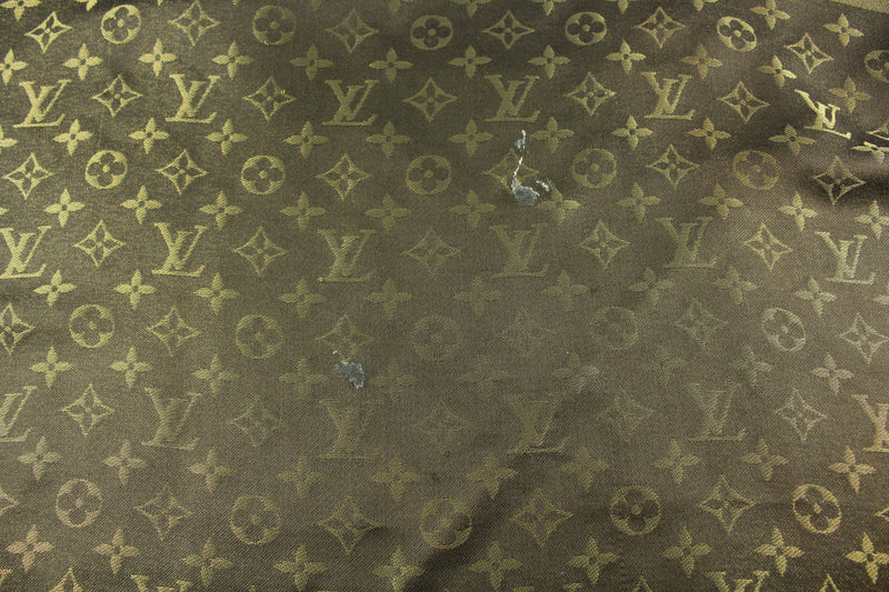 Louis Vuitton Monogram Shine Shawl Silk/Wool Brown/Gold