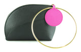Roksanda Eartha Dot Bi Colour Leather Clutch GH