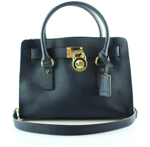 Michael Kors Navy Saffiano East West Hamilton