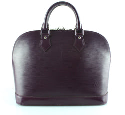 Louis Vuitton Aubergine Epi Leather  Alma PM FL2028