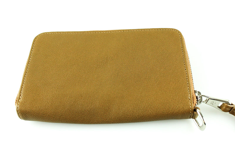 Longchamp Le Pliage Cuir Zip Wallet Medium