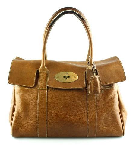 65c81db1057f Mulberry NVT Oak Bayswater With Brass Hardware