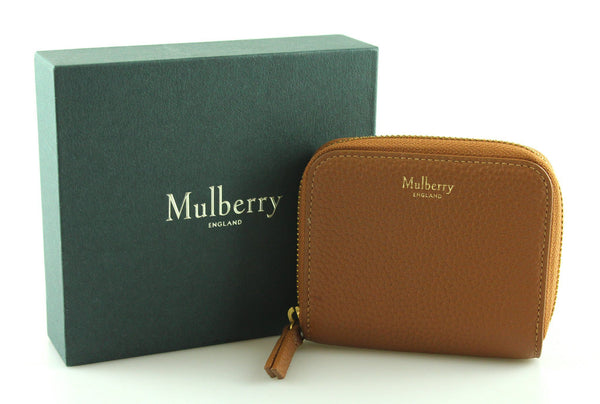 Mulberry Compact Zip Around Wallet