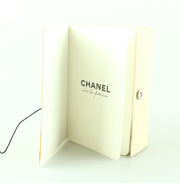Chanel Suede Notebook
