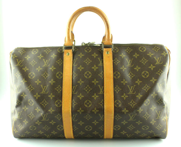 Louis Vuitton Vintage Monogram Keepall 45 SA843