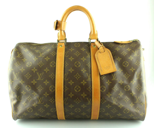 Louis Vuitton Vintage Monogram Keepall 45 SA824