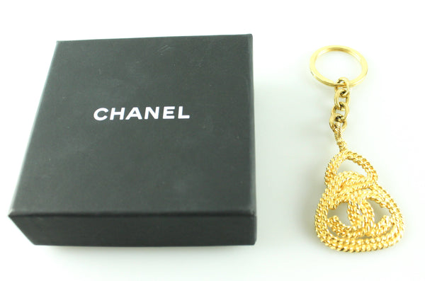Chanel Vintage Chain Detail Key Chain 1988