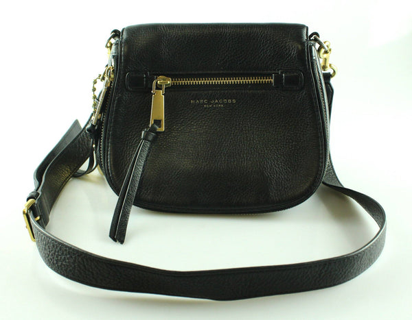 Marc Jacobs Small Recruit Saddle Bag Black *2*