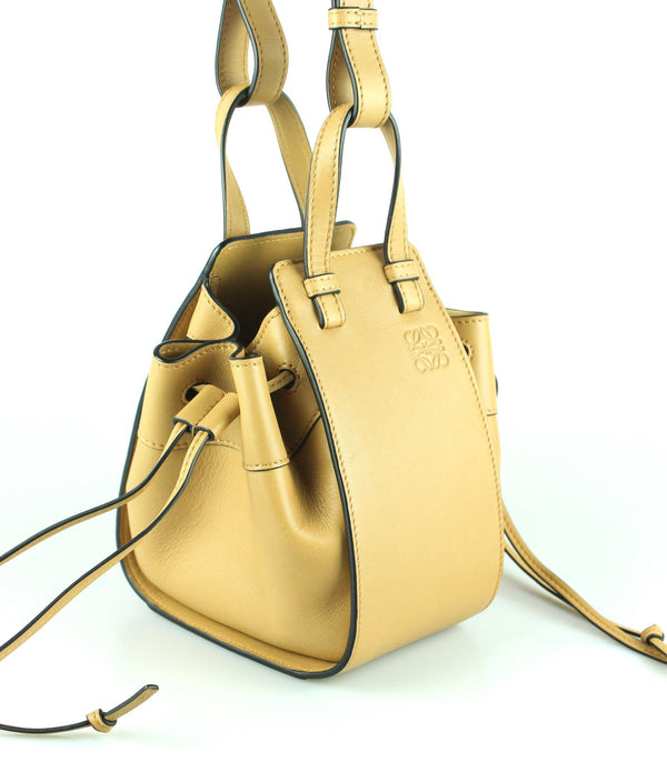 Loewe Light Caramel Hammock Drawstring Mini Bag RRP €1480