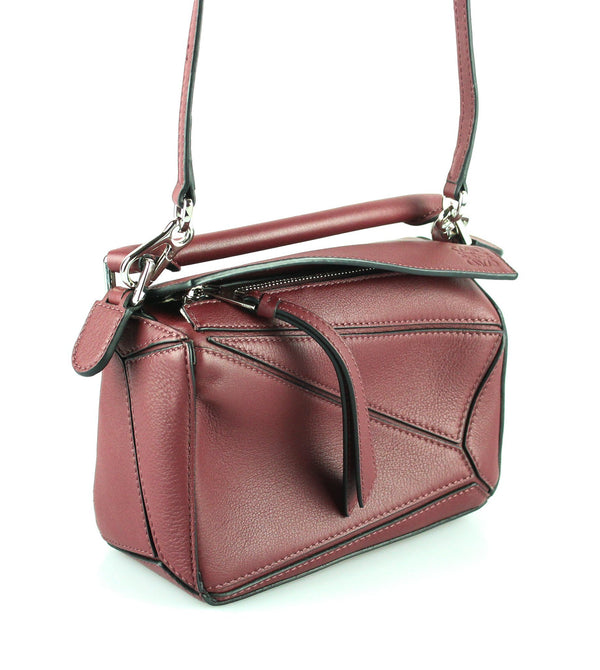 Loewe Wine Mini Puzzle Cross Body RRP €1,300