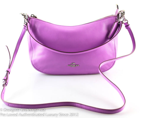 Coach Chelsea Crossbody Lilac Smooth Calf Leather