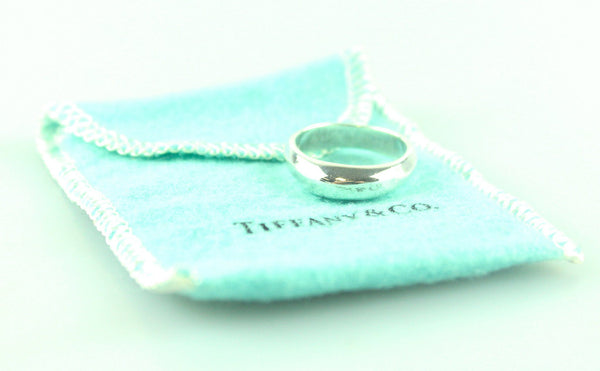 Tiffany & Co. 925 1999 Twist Dome Band Ring