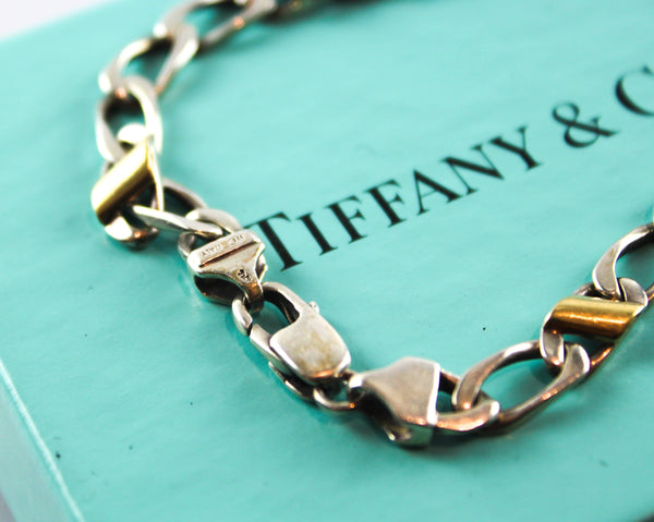 Tiffany & Co. 18K Gold/Silver Link Bracelet