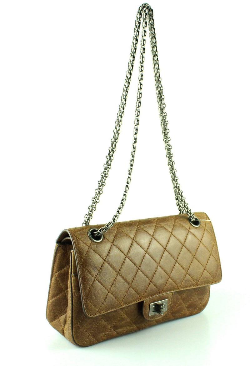 Chanel 2.55 Resissue Hazel Calf Leather 2011 225