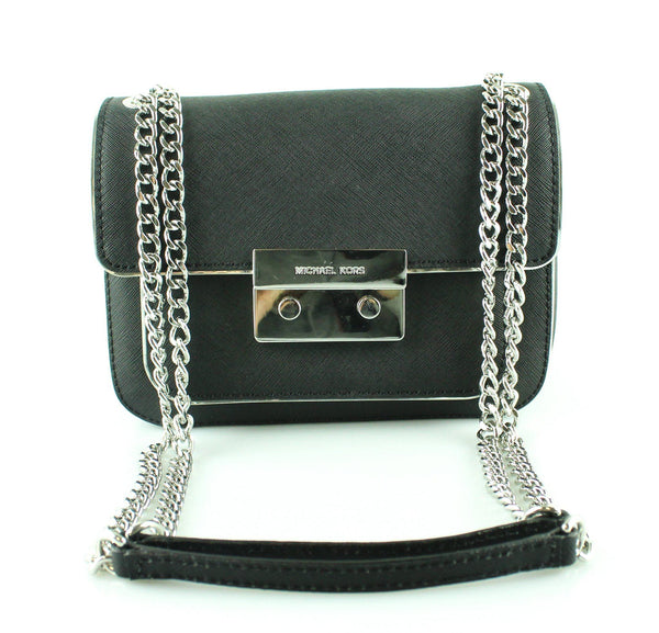 Michael Kors Black Small Flap Chain Cross Body