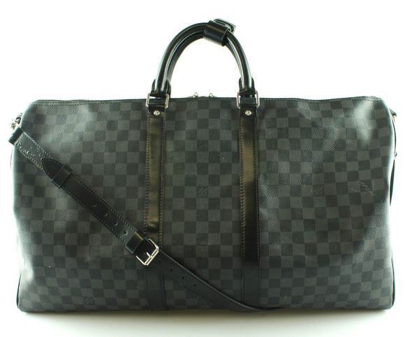 Louis Vuitton Damier Graphite Keepall Bandouliere 55 MB3156