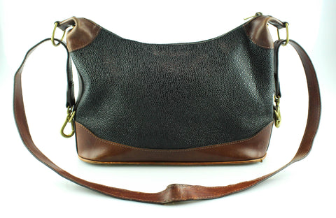 a70f11efd104 Mulberry Vintage Scotchgrain Shoulder Hobo Brass
