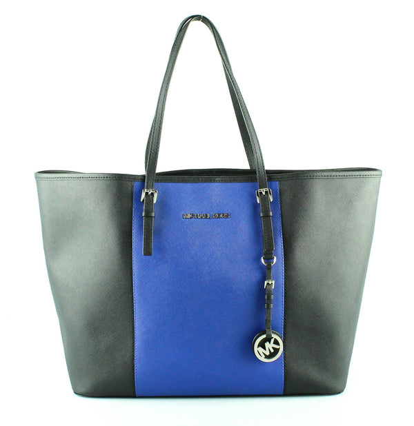 Michael Kors Navy/Black Saffiano Travel Tote