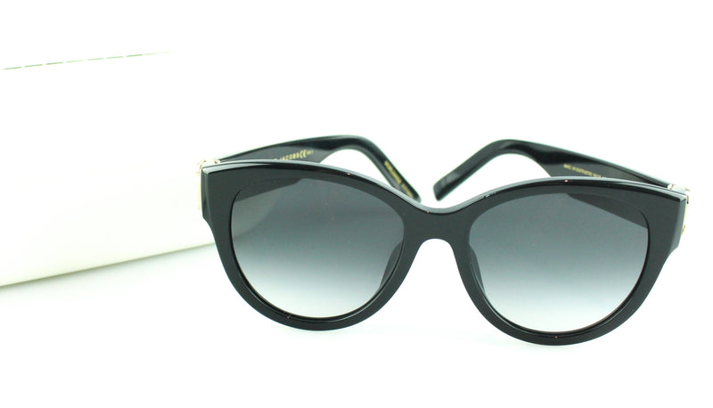 Marc Jacobs Black With Gold And Diamante Sunglasses 181/s/str