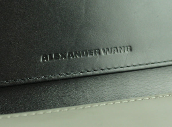 Alexander Wang Grey Prisma Wallet