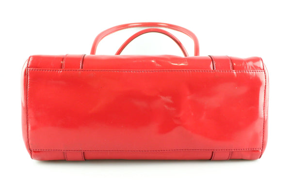 Mulberry Spazzolato East West Bayswater Red SH