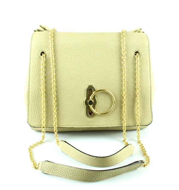 Mulberry Marloes Satchel Biscuit Beige GH RRP €1295
