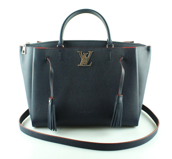 Louis Vuitton Marine/Rouge Lockmeto Tote RRP €2400