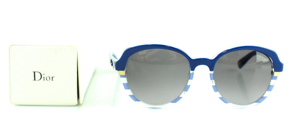 Christian Dior Blue Stripe Sunglasses