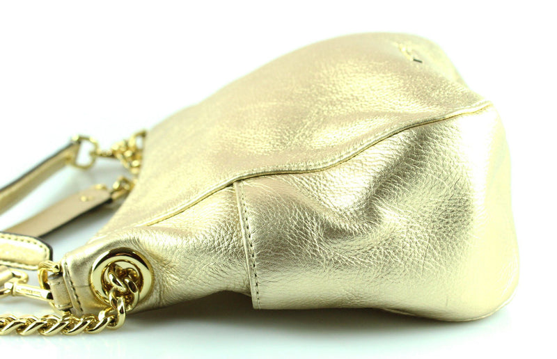 Michael Kors Small Gold Chandler Hobo