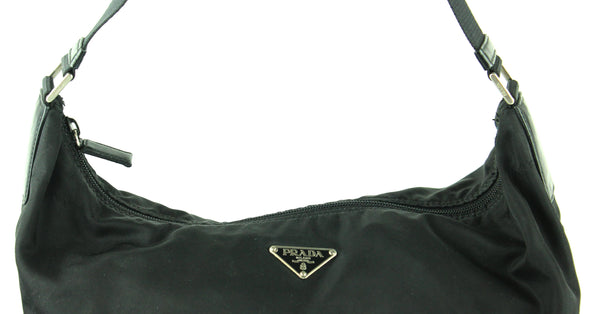 Prada Nylon Comfort Strap Black Shoulder Bag