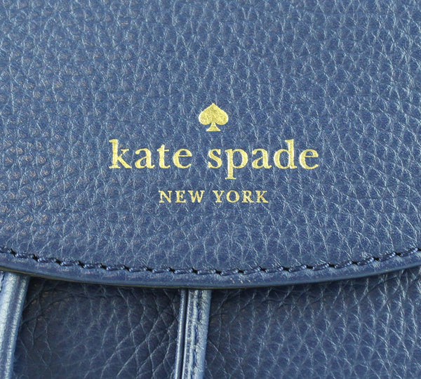 Kate Spade Navy Drawstring Backpack Wilder