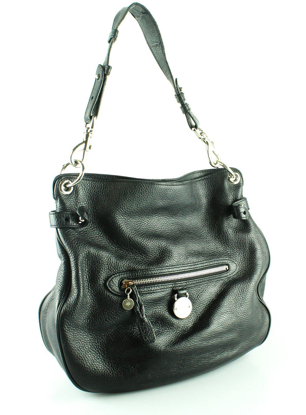 Mulberry Black Leather Somerset Hobo SH (2)
