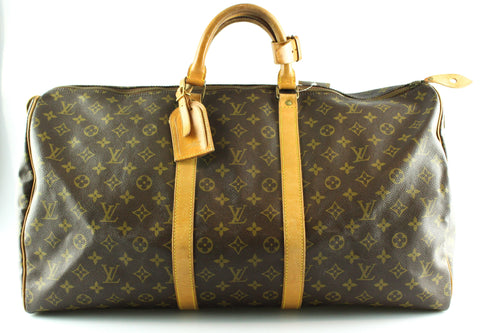 Louis Vuitton Vintage Monogram Keepall 55 SD822