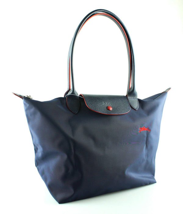 Longchamp Club Le Pliage Medium Navy