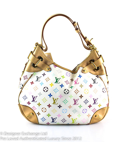 Louis Vuitton Greta White Multicolour CA4068