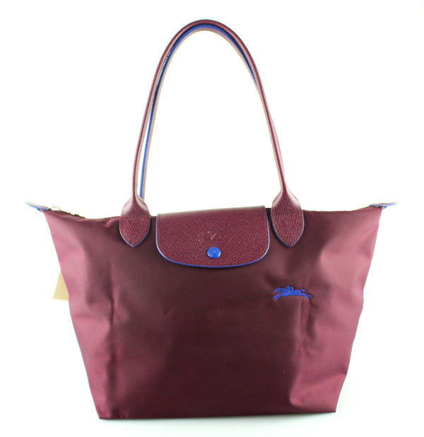 Longchamp Club Le Pliage Small Burgundy
