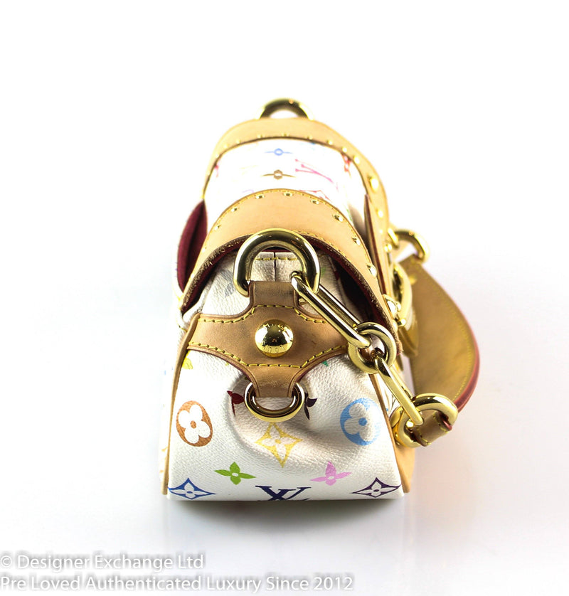 Louis Vuitton White Multicolour Marilyn MI0048