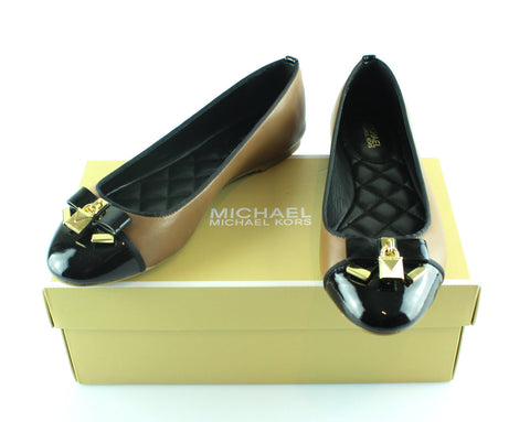 Michael Kors Alice Two Tone Ballet Pumps