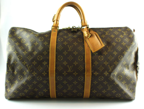 Louis Vuitton Vintage Monogram Keepall 55 MI9003