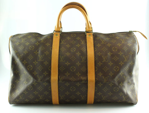 Louis Vuitton Vintage Monogram Keepall 50 MB834
