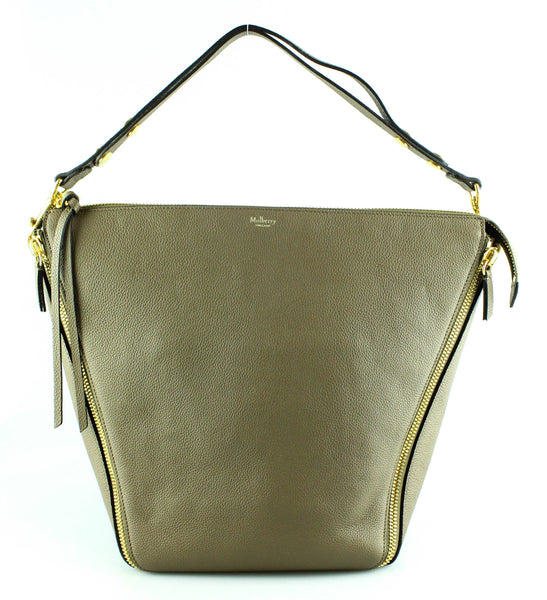 Mulberry Taupe Camden Grained Leather RRP €995